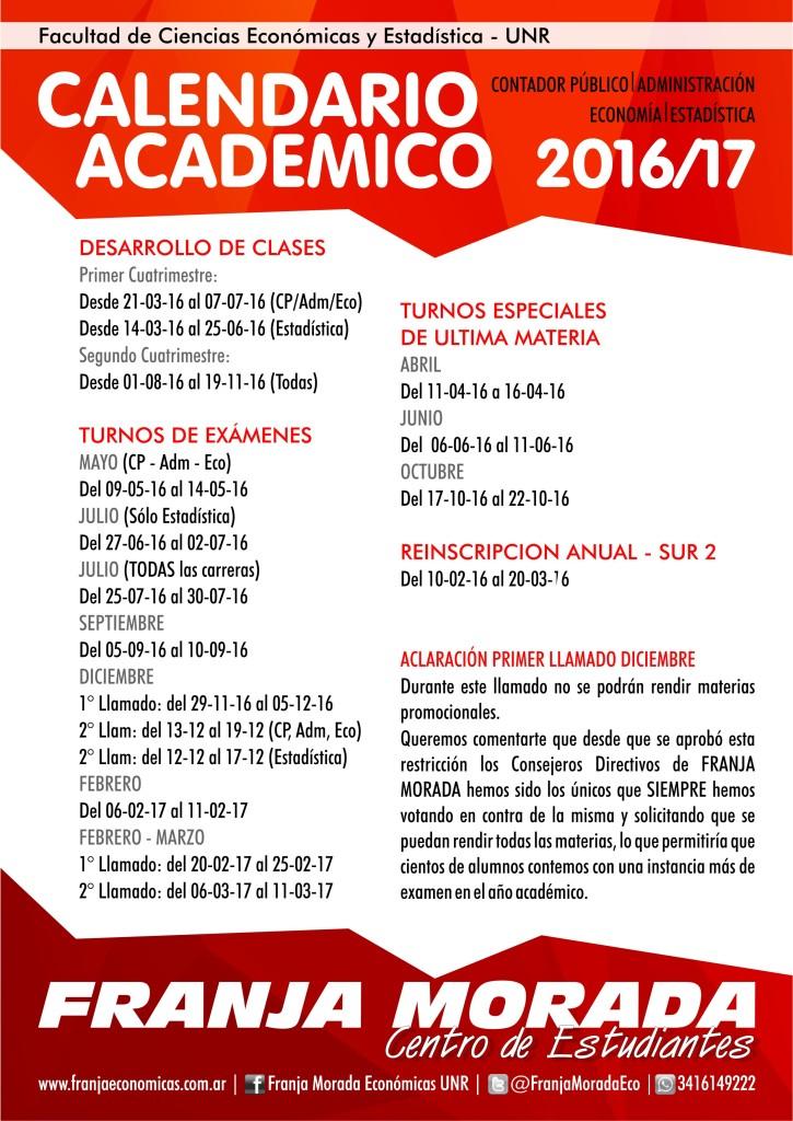 Calendario Academico WEB