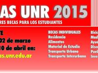 Becas Estudiantiles 2015 – UNR